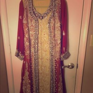 Indian/Pakistani Bridal Wedding Dress